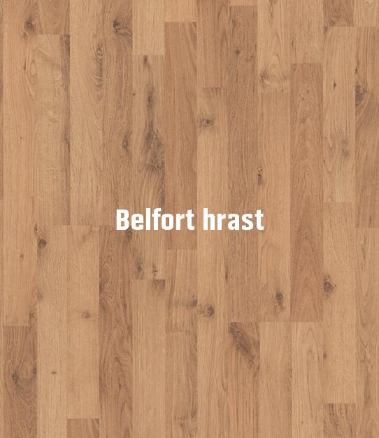 Laminatni pod Euroclic - Belfort hrast