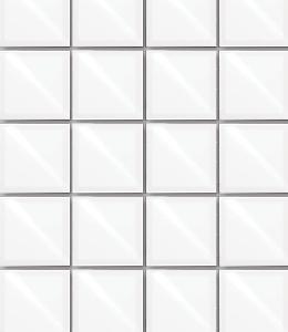 Stenska ploščica bela