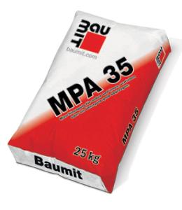 Strojni omet MPA 35