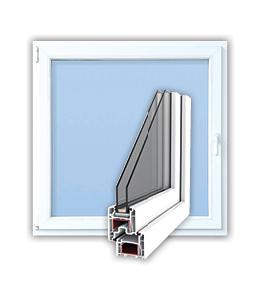 PVC okno