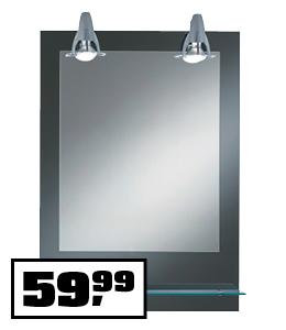 Ogledalo z osvetlitvijo Pierre