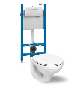 Komplet za stenski WC