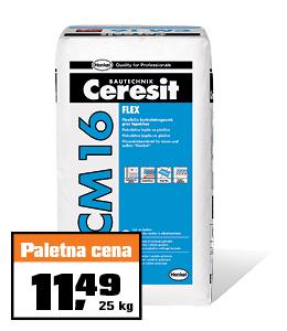 Elastično lepilo CM 16 Ceresit