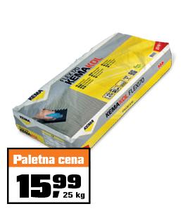 Fleksibilno lepilo za ploščice Kemakol Flex 170